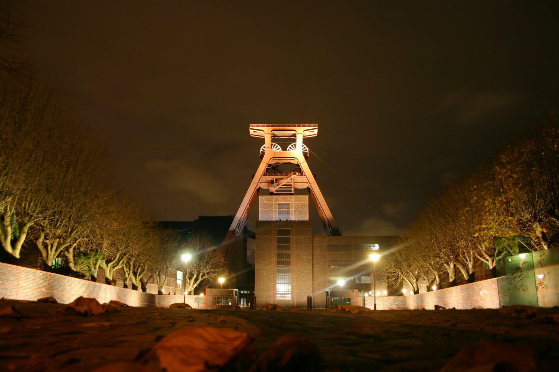 Das ehemalige Steinkohlebergwerk Kokerei Zollverein in Essen